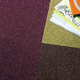 Bolero carpet tile, purple (890)