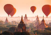 Флиз фототапет Ballons over Bagan 366*254 - 965 ПОСЛЕДЕН БРОЙ