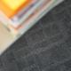 Block carpet tile, gray (990)