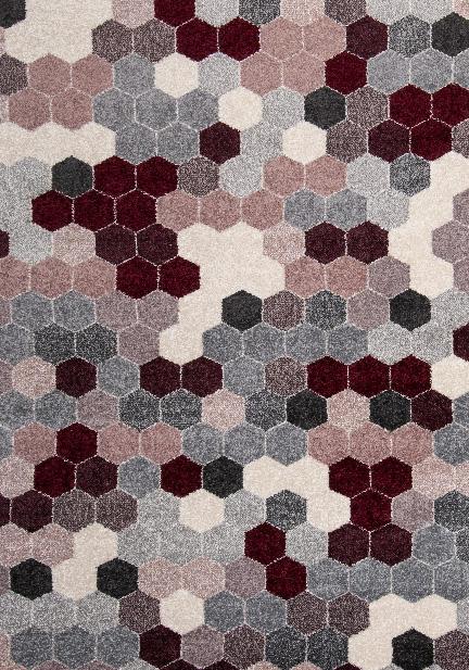 Килим Fika, пъстър (78537/silver/bx/pink)