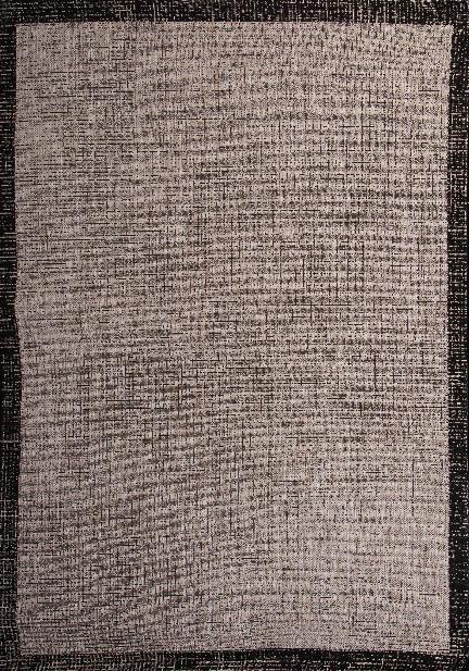 Килим Floorlux, сив (20401/silver/black)