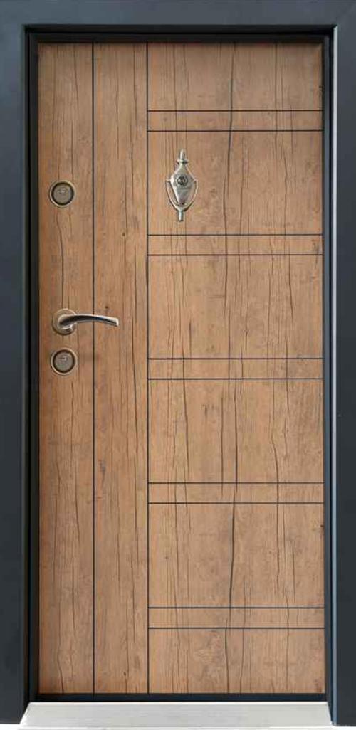 Входна врата Parkdor SL101 90 см. дясна - антик