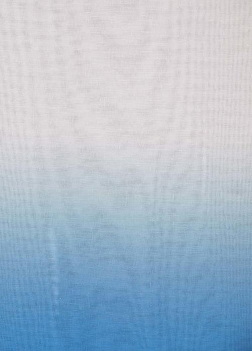 Перде Printed 7566-21365/202, синьо / 300 см.