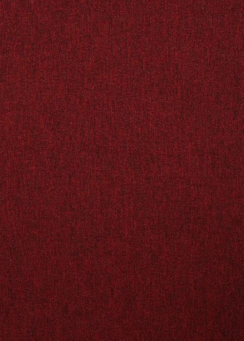 Перде BCM Katyonik Soft 2027, червено / 300 см.