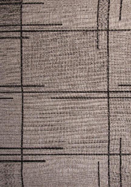 Килим Floorlux, сив (20516/silver/black)