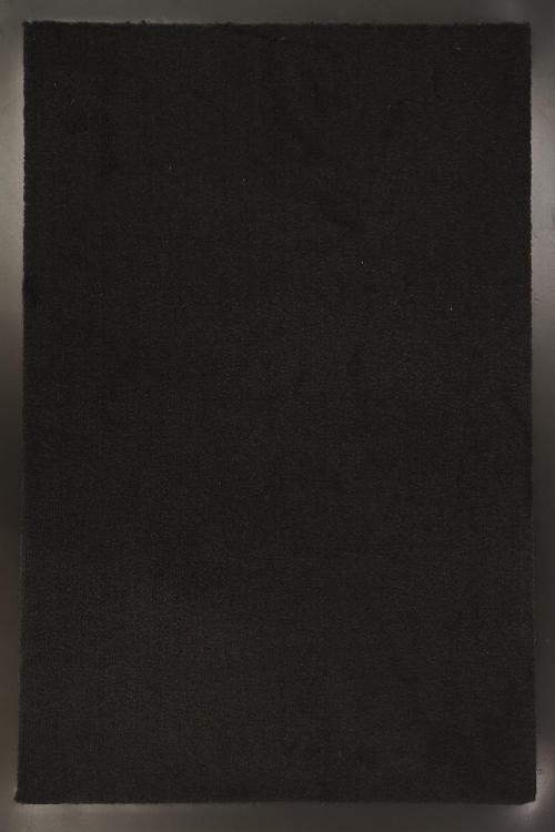 Изтривалка ПВЦ гръб, черна - 60/120 см.