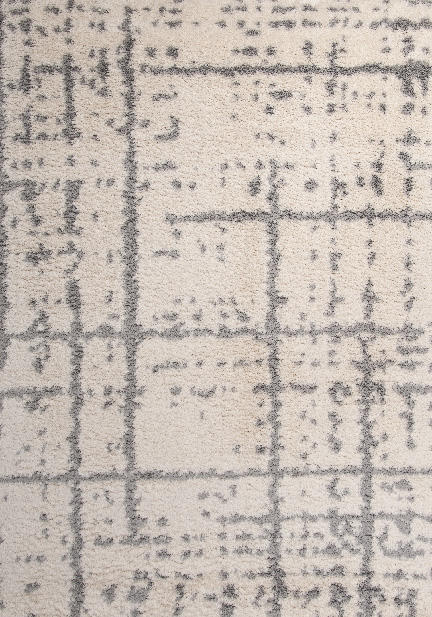 Килим Blizz, сив (79846/white/silver)