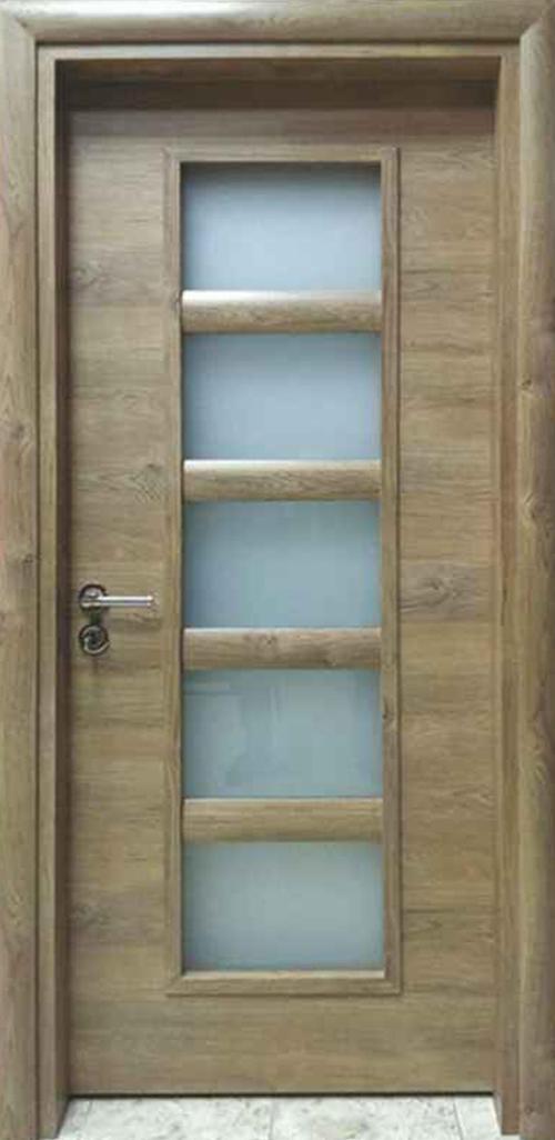 Интериорна врата VD5 с регулируема каса 80 см. дясна