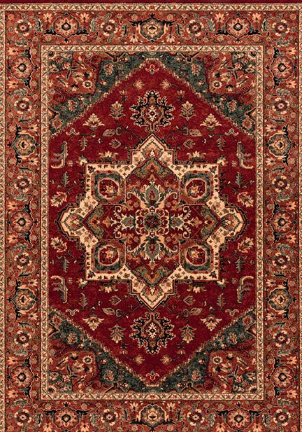 Килим Kashqai, червен (4354/300)