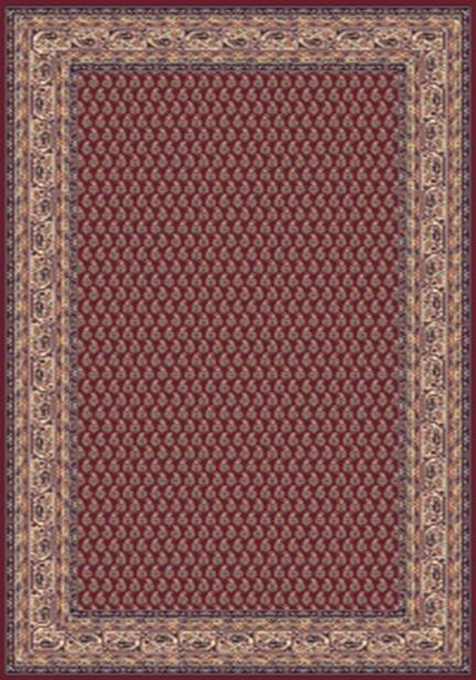 Килим Solid, червен (03CPC)