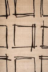 Килим Cosi, бежов (78004/ivory/d.brown)