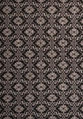 Килим Floorlux, черен (20593/black/silver)