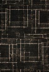 Килим Elegance Cosy, черно-бял (67002/391)