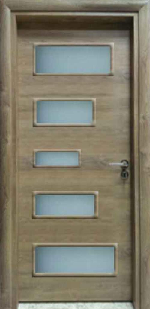 Интериорна врата VD9 с регулируема каса 70 см. лява
