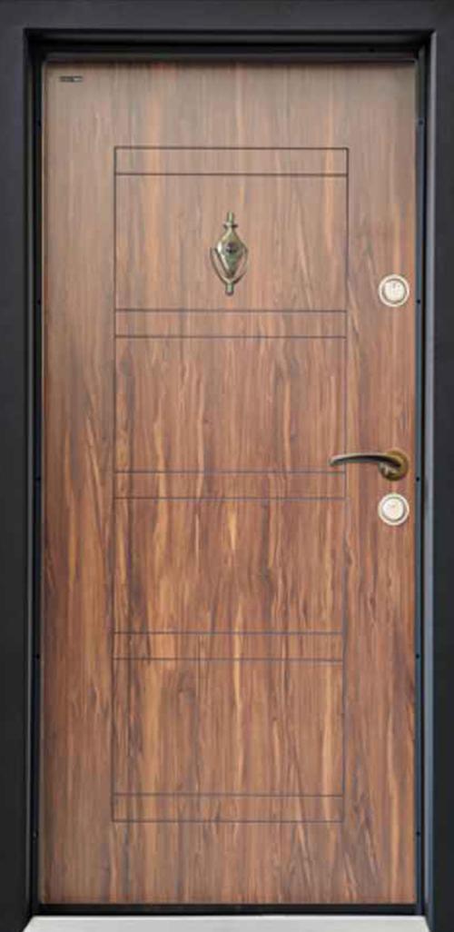 Входна врата Parkdor SL102 90 см. лява - Африка орех