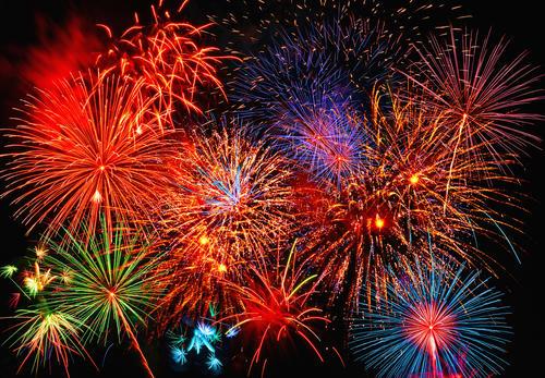 Фототапет Fireworks 366*254