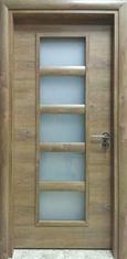 Интериорна врата VD5 с регулируема каса 80 см. лява