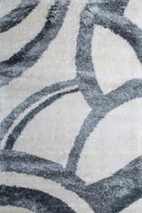 Килим Conga, черно-бял (65609/683)