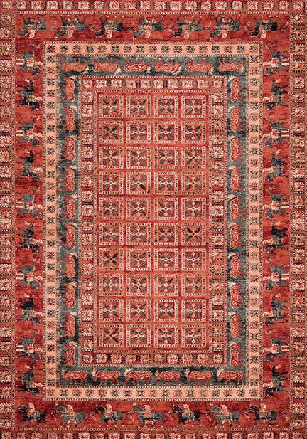 Килим Kashqai, червен (4301/300)