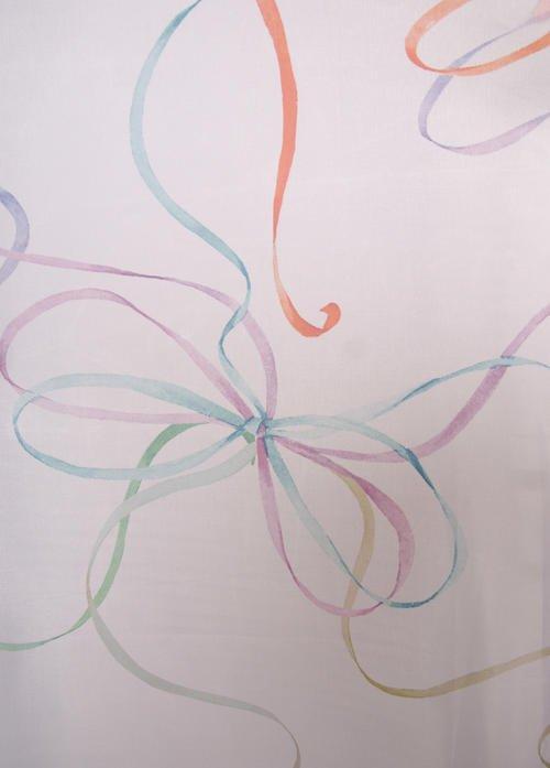 Перде Панделки Art 0443/001, многоцветни / 280 см.