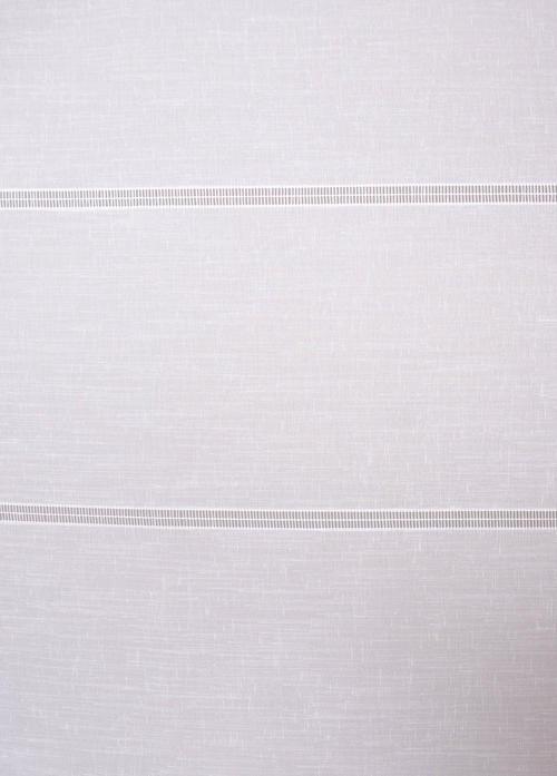 Перде Atalantet 01, бяло / 300 см.