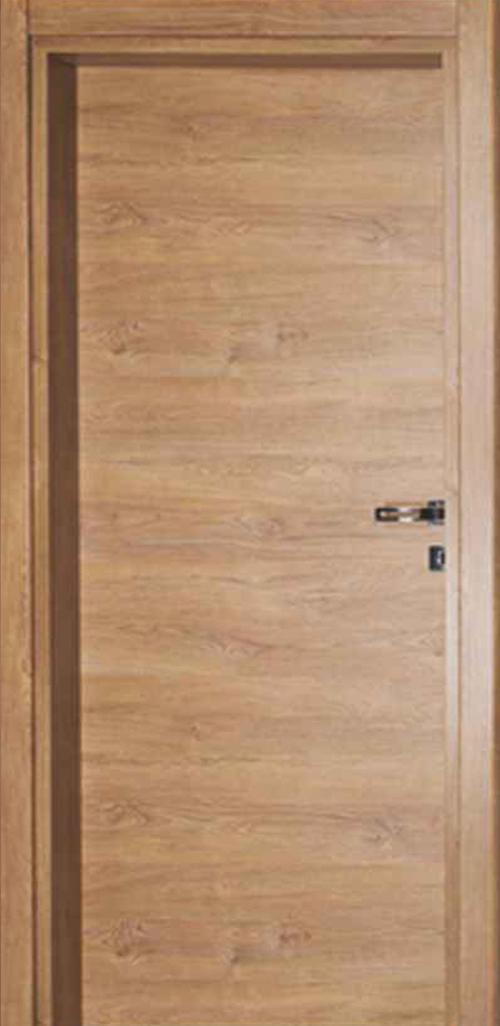 Интериорна врата индийски орех с регулируема каса 80 см. лява