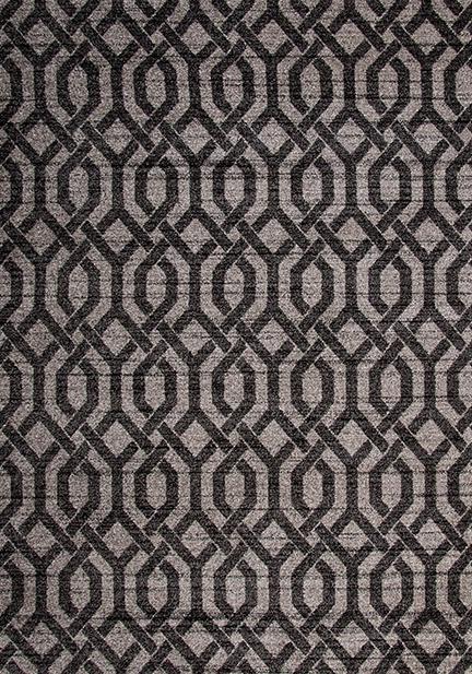 Килим Cosi, кафяв (78446/ivory/d.brown)