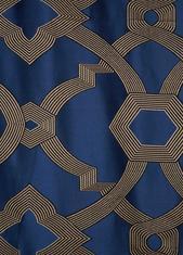 Перде United 635348/32007, синьо / 320 см.