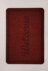 Изтривалка Welcome, червена - 40/60 см.