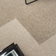 Rift carpet tile, brown (730)