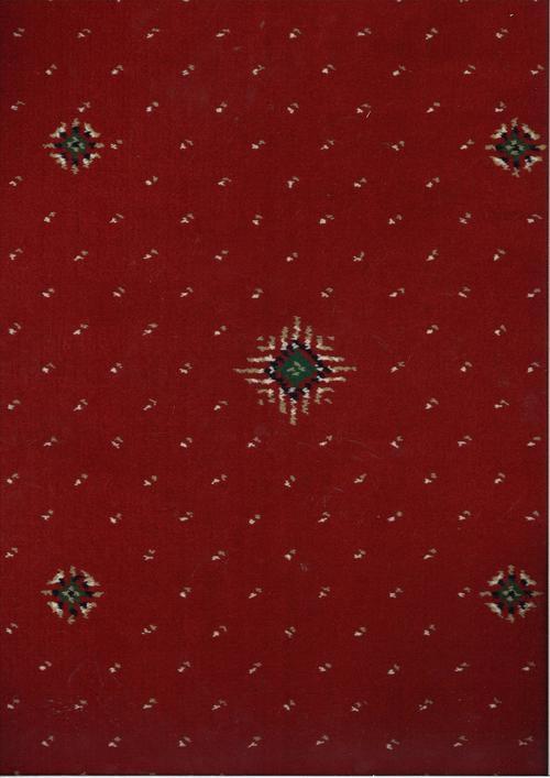 Мокет Windsor diamond, червен (32055)