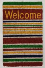 Изтривалка Ruco Welcome Stripes, пъстра - 40/60 см.