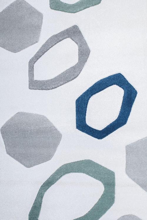 Килим Shuffle, бял (58213/062)