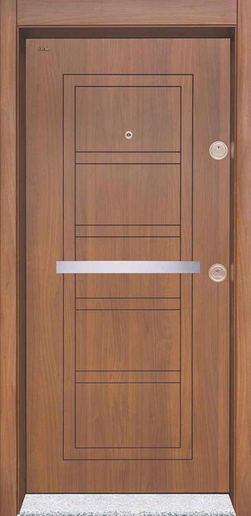 Входна врата Starlife SL202 90 см. лява - металик орех