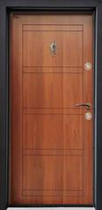 Входна врата Parkdor SL102 90 см. лява - металик орех