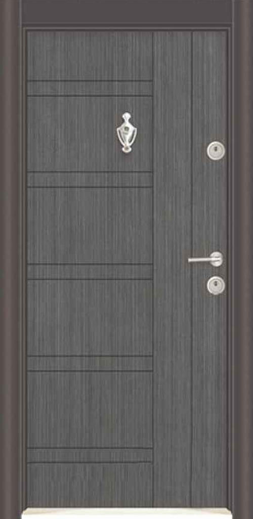 Входна врата Parkdor SL101 90 см. лява - черна перла