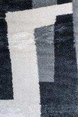 Килим Conga, черно-бял (65605/368)