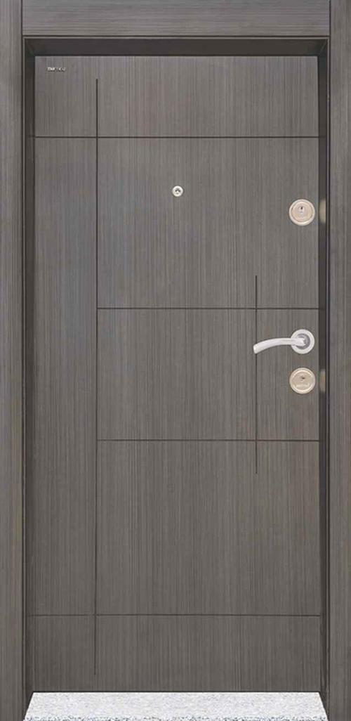 Входна врата Starlife SL203 90 см. лява - черна перла