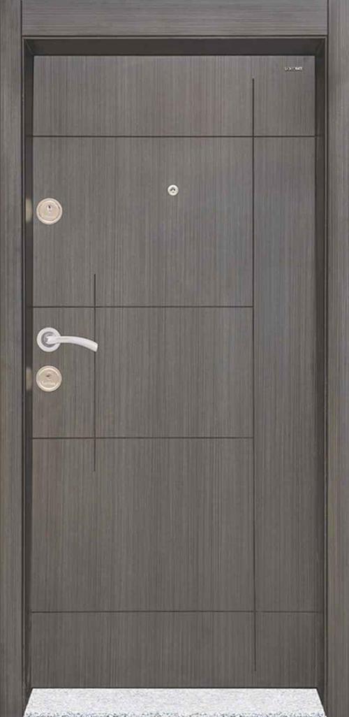 Входна врата Starlife SL203 90 см. дясна - черна перла