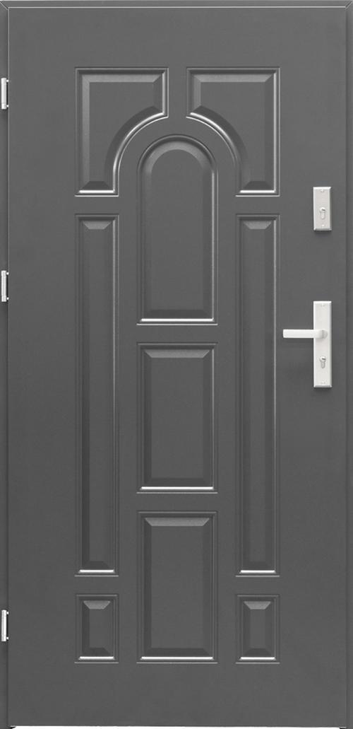 Входна врата Toronto, лява с каса, антрацит
