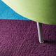 Rift carpet tile, purple (880)
