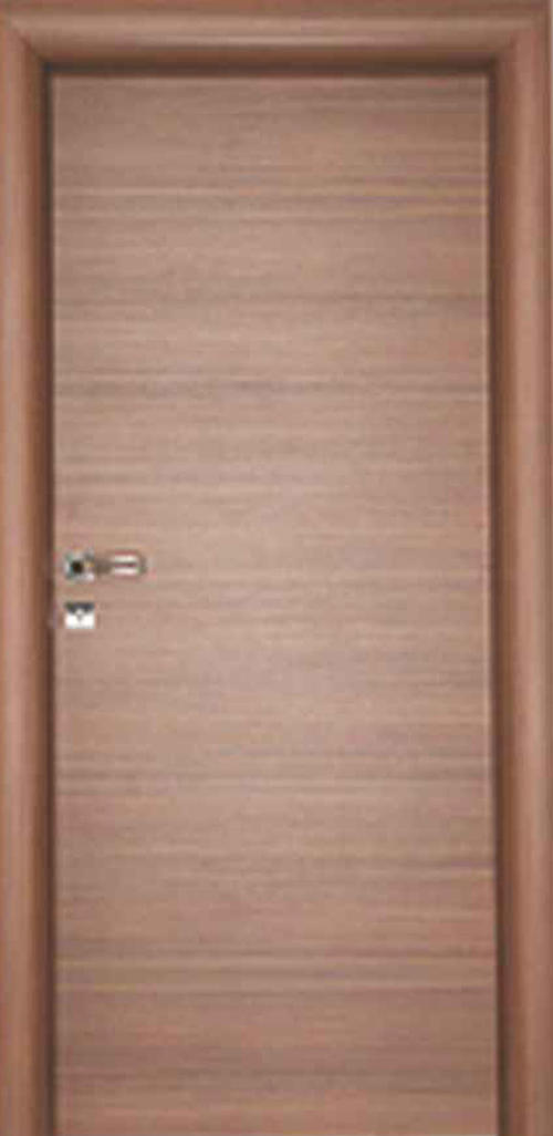 Интериорна врата орех с регулируема каса 80 см. дясна