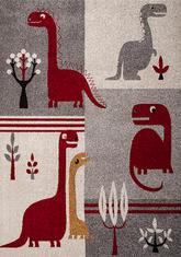 Килим Cosi, червен (78467/ivory/red)
