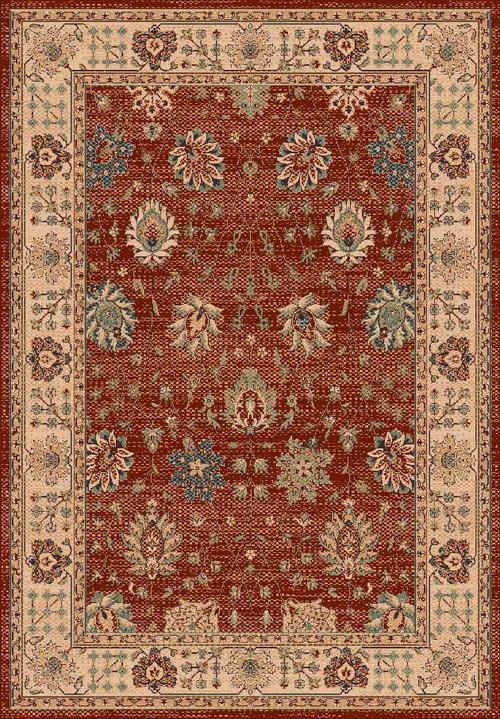 Килим Isphahan, червен (0.8/1.5-84314/red)