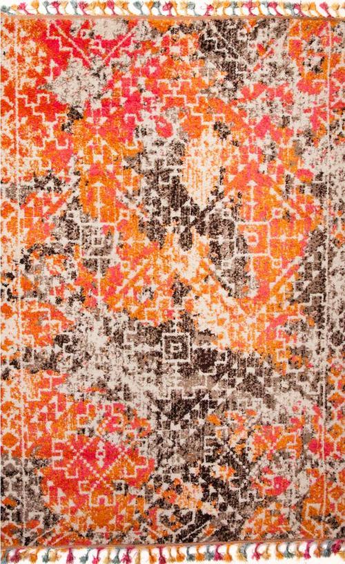 Килим Marakesh, пъстър (2269A/orange-brown)