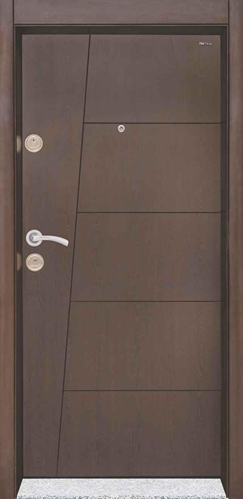 Входна врата Starlife SL201 90 см. дясна - венге