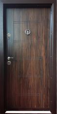 Входна врата метална F-002 с каса 280-350, лява