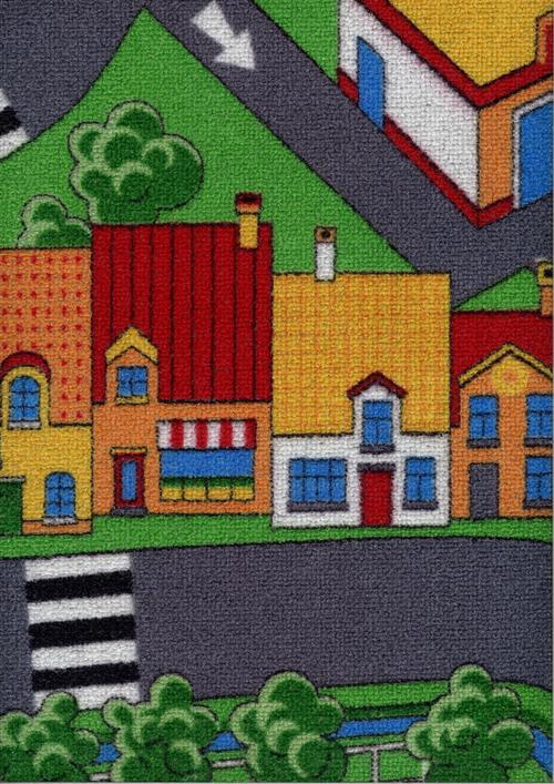 Мокет Little Village, пъстър (90)