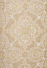 Килим Terazza, жълт (21193/ivory silver/go)