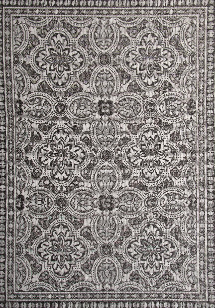 Килим Terazza, сив (21193/ivory/silver/grey)